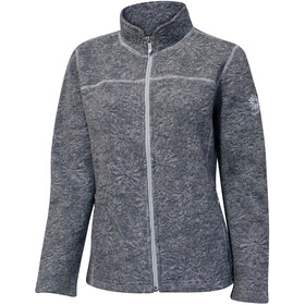 Ivanhoe of Sweden Fireworks Full-Zip Jacket Damen grey marl